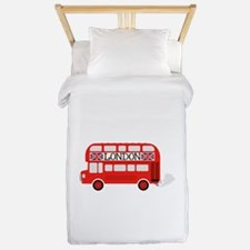 London Double Decker Twin Duvet