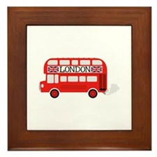 London Double Decker Framed Tile
