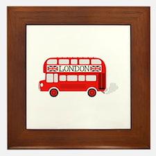 London Double Decker Framed Tile