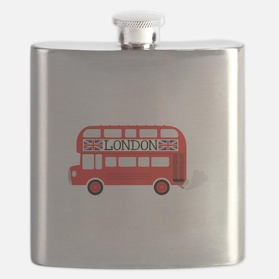 London Double Decker Flask