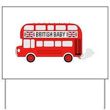British Baby Yard Sign