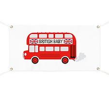 British Baby Banner