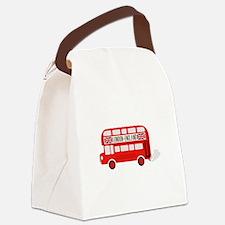 London England Canvas Lunch Bag