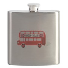 London England Flask