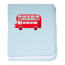 London England baby blanket