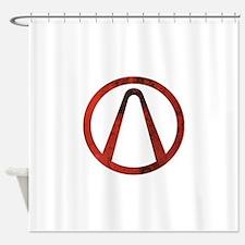 Borderlan Shower Curtain