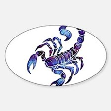 Celestial Rainbow Scorpion Decal