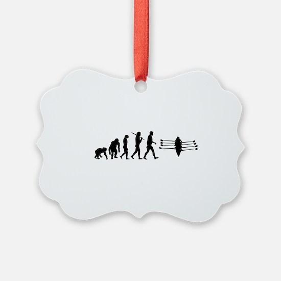 Rowing Evolution Ornament