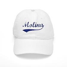 Molina - vintage (blue) Baseball Cap