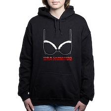 Bra Humbug Christmas Hum Women's Hooded Sweatshirt