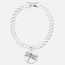 Pointilist Gem Studded D Bracelet