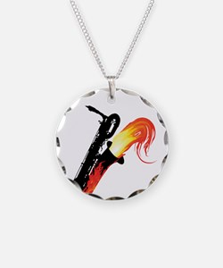 barisax-flame-ornR.png Necklace