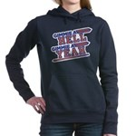 Gimme Hell Yeah Women's Hooded Sweatshirt