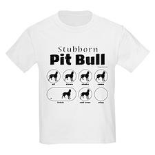 Stubborn Pit Bull v2 T-Shirt