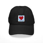 I LOVE CATS Black Cap