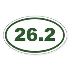 26.2 Green Decal