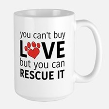 you can't buy love Mugs