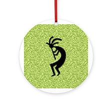 Green Kokopelli Gift Keepsake
