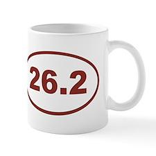 26.2 Red Maroon Mugs
