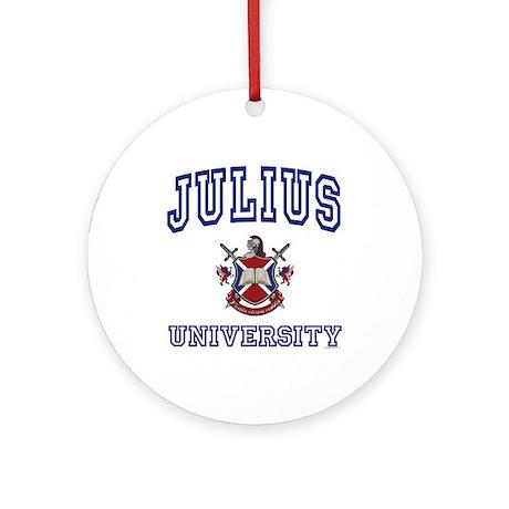 JULIUS University Ornament (Round)