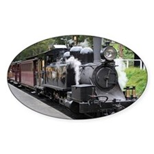 Steam engine, Victoria, Australia Decal