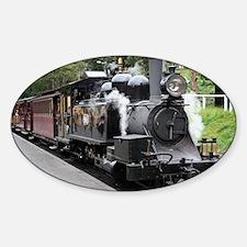 Steam engine, Victoria, Australia Decal