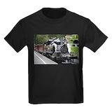 Puffing billy Kids T-shirts (Dark)