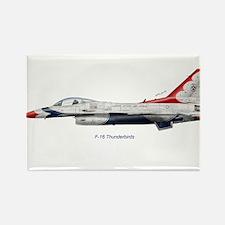 Cute Thunderbirds usaf Rectangle Magnet