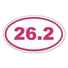26.2 Magenta Pink Decal
