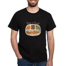 TV. Dinner Microwave Tray T-Shirt