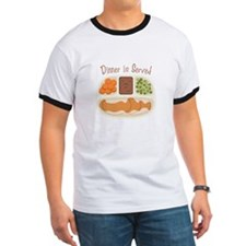 TV. Dinner Microwave Tray T-Shirt