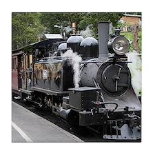 Steam engine, Victoria, Australia Tile Coaster