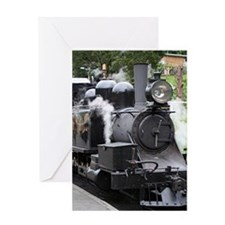 Steam engine, Victoria, Australia Greeting Cards