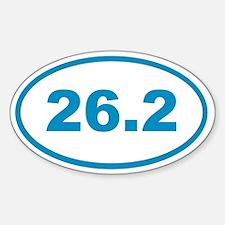 26.2 Cyan Blue Decal