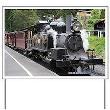 Steam engine, Victoria, Australia Yard Sign