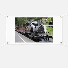 Steam engine, Victoria, Australia Banner
