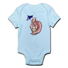 Pink Squirrel Infant Bodysuit