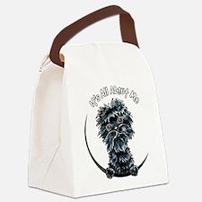 Affenpinscher IAAM Canvas Lunch Bag