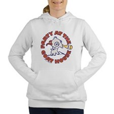 Party At The Goat House Women's Hooded Sweatshirt