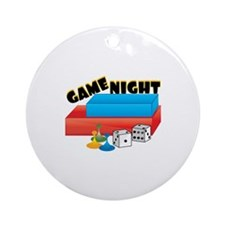 Game Night Ornament (Round)