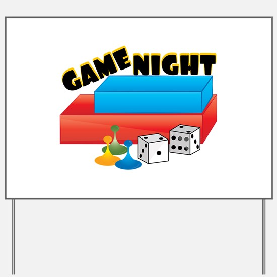 Game Night Yard Sign
