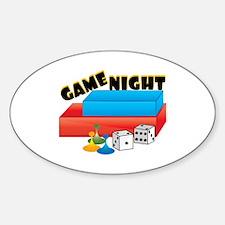 Game Night Decal