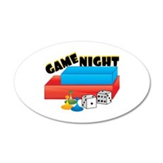 Game Night Wall Decal