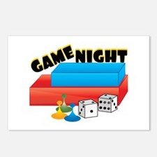 Game Night Postcards (Package of 8)