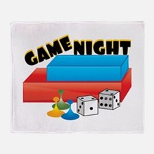 Game Night Throw Blanket