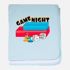 Game Night baby blanket