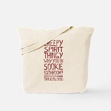 Creepy Spirit Thingy True Blood Tote Bag