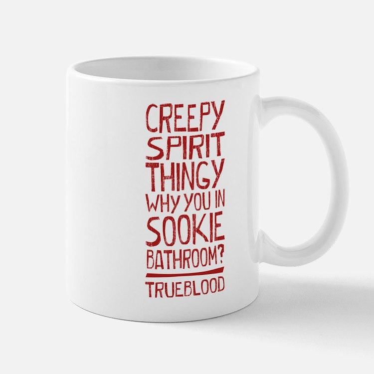 Creepy Spirit Thingy True Blood Mugs