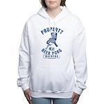 Beer Pong Women's Hooded Sweatshirt