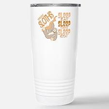 Sloth Sleep Eat Hang Travel Mug